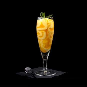 """</p> <div class=""""title_menu"""">FLÛTE MANGO E PASSION FRUIT</div> <p>purea di mango, succo del frutto della passione, latte,soia,uova e frumento<br /><strong>5,50€</strong></p> <p>"""