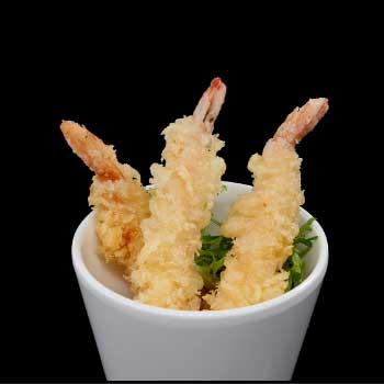 """</p> <div class=""""title_menu"""">EBI TEMPURA* 3PZ</div> <p>gamberi fritti in tempura, farina di tempura, A,B<br /><strong>5,50€</strong></p> <p>"""