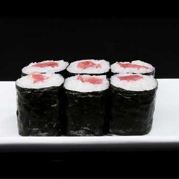 """</p> <div class=""""title_menu"""">MAGURO HOSOMAKI#</div> <p>alghe, riso, tonno, D<br /><strong>3,50€</strong></p> <p>"""